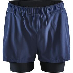 Craft ADV Essence Szorty 2-w-1 elastyczne Mężczyźni, niebieski